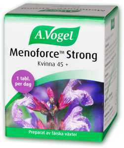 VOGEL MENOFORCE STRONG SALVIATABLETTI 30 TABL.