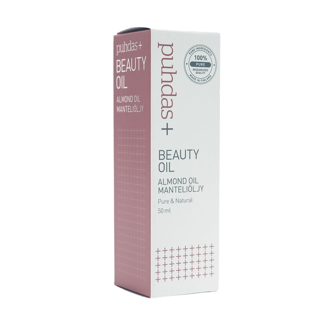Puhdas+ Beauty Oil Almond Oil - Manteliöljy 50 ml