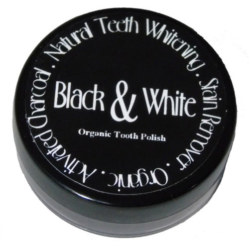 BLACK & WHITE tooht polish 15 g