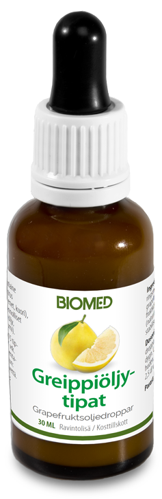BIOMED GREIPPIÖLJYTIPAT  30 ml
