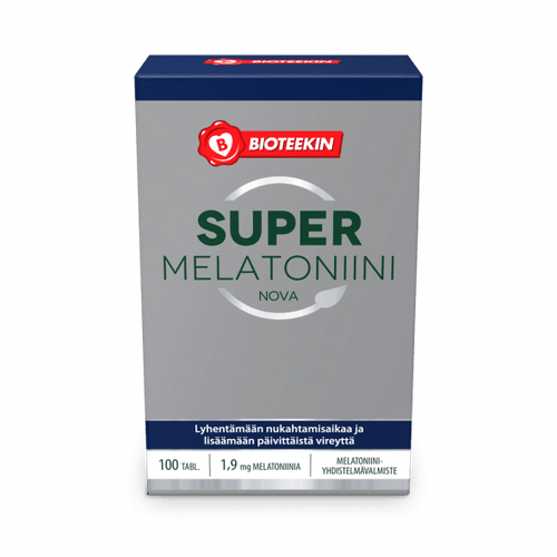BIOTEEKKI SUPER MELATONIINI NOVA 1,9MG 50 kaps