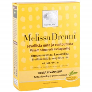 NEW NORDIC MELISSA DREAM 60 TABL.