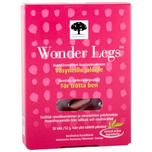 NEW NORDIC WONDER LEGS 30 TABL.