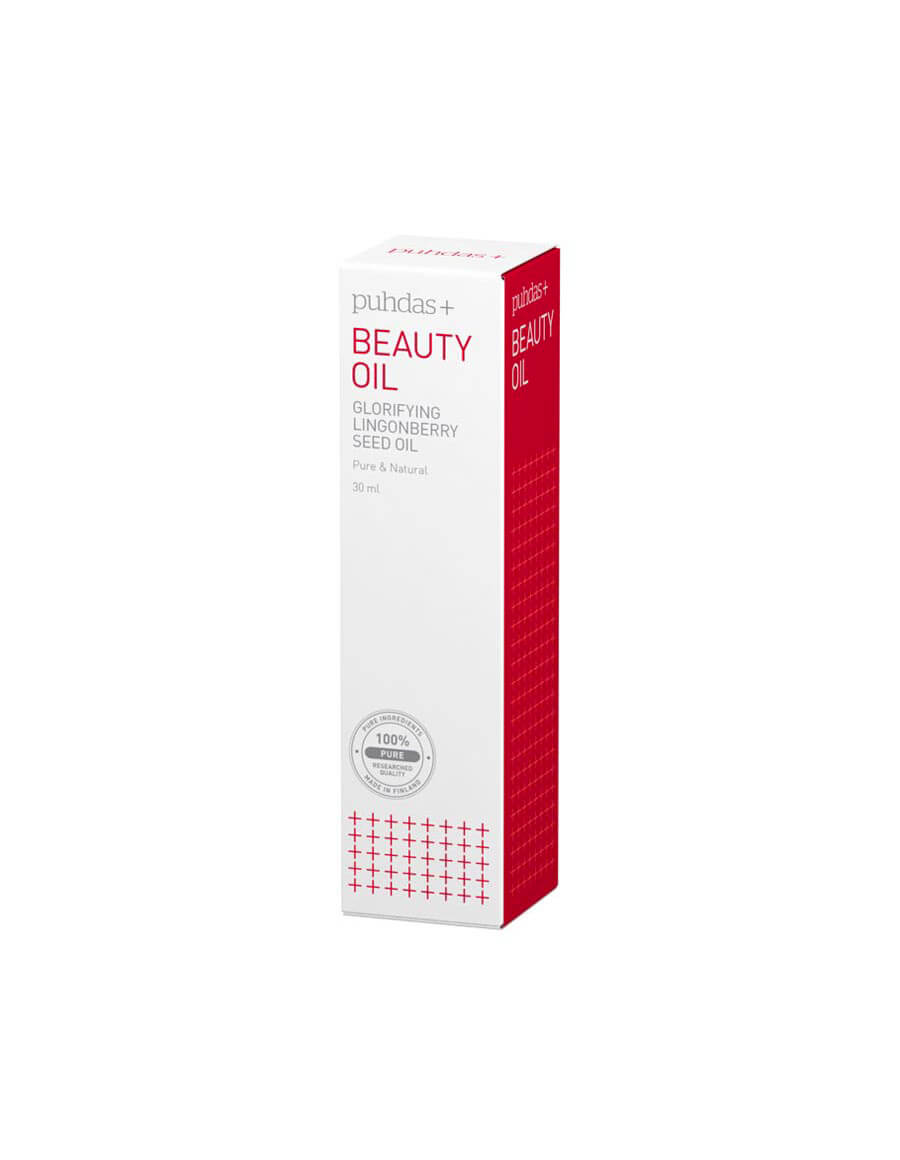 Puhdas+ Beauty Oil, Glorifying Lingonberry Seed Oil  30 ml