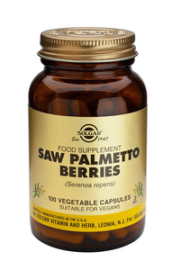 SOLGAR SAHAPALMU  (Saw Palmetto Berries) 520 mg     100 kaps