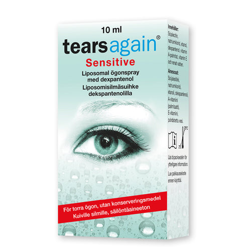SABORA TEARSAGAIN SENSITVE  silmäsuihke 10ml