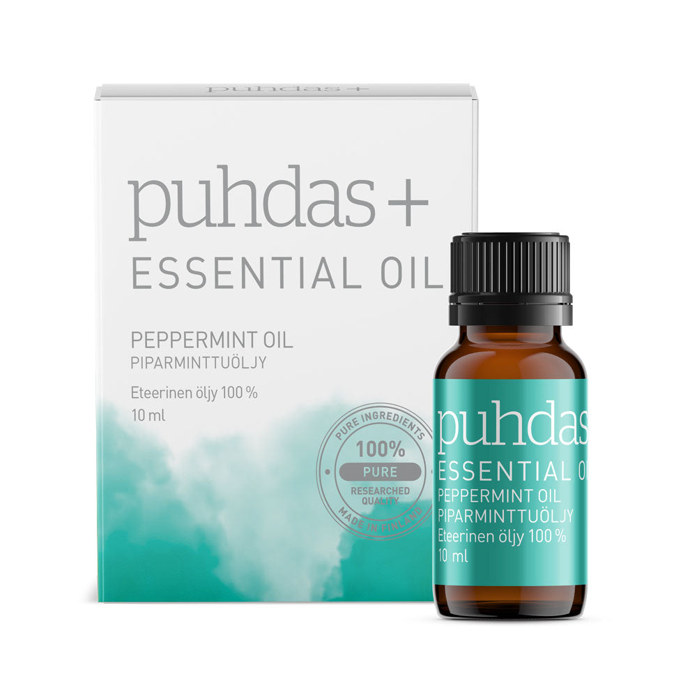 Puhdas+ essensial oil, peppermint     10 ml