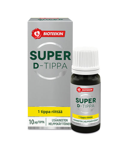 BIOTEEKKI SUPER D tipat        8 ml
