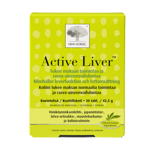NEW NORDIC ACTIVE LIVER    30 tabl