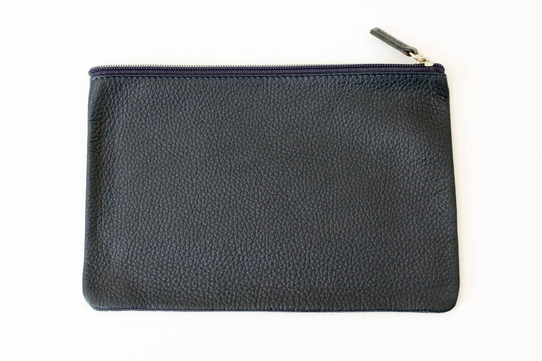 Pouch large blue
