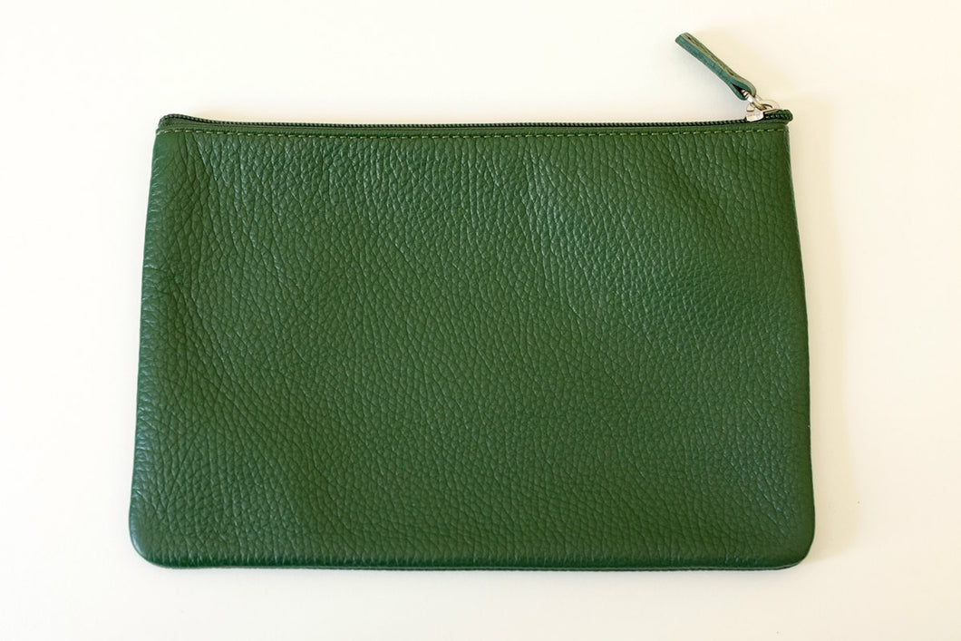 Pouch large green