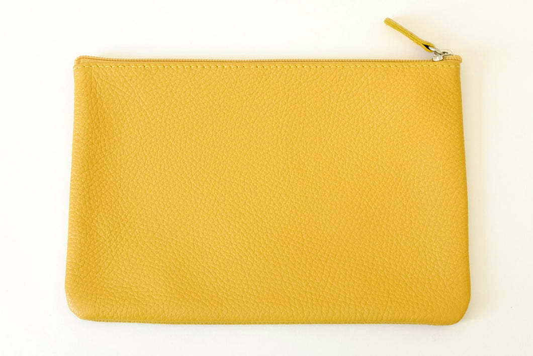 Pouch large yellow
