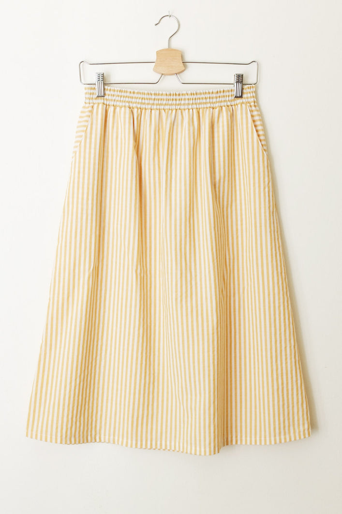 Bonnie yellow stripe