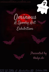 Ominous: A Spooky Art Exhibition