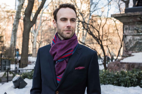 fishman donut scarf and pocket square by section 119