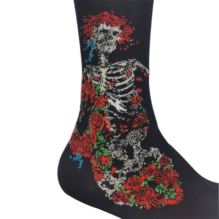 Grateful Dead Black Bertha Socks - Section 119