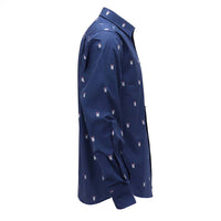 Navy Bug Long-Sleeve Shirt - Section 119