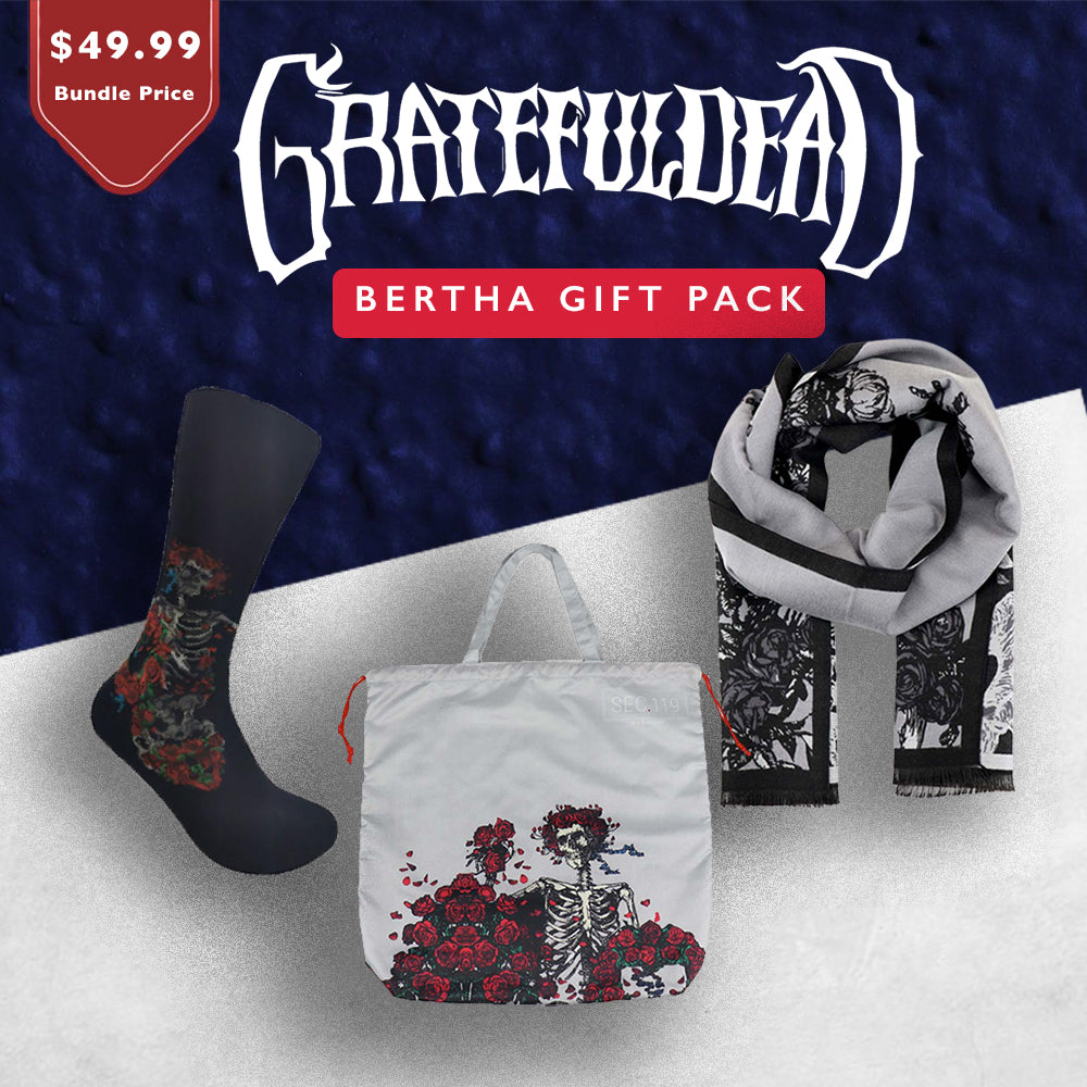 Grateful Dead Bertha Gift Pack - Section 119