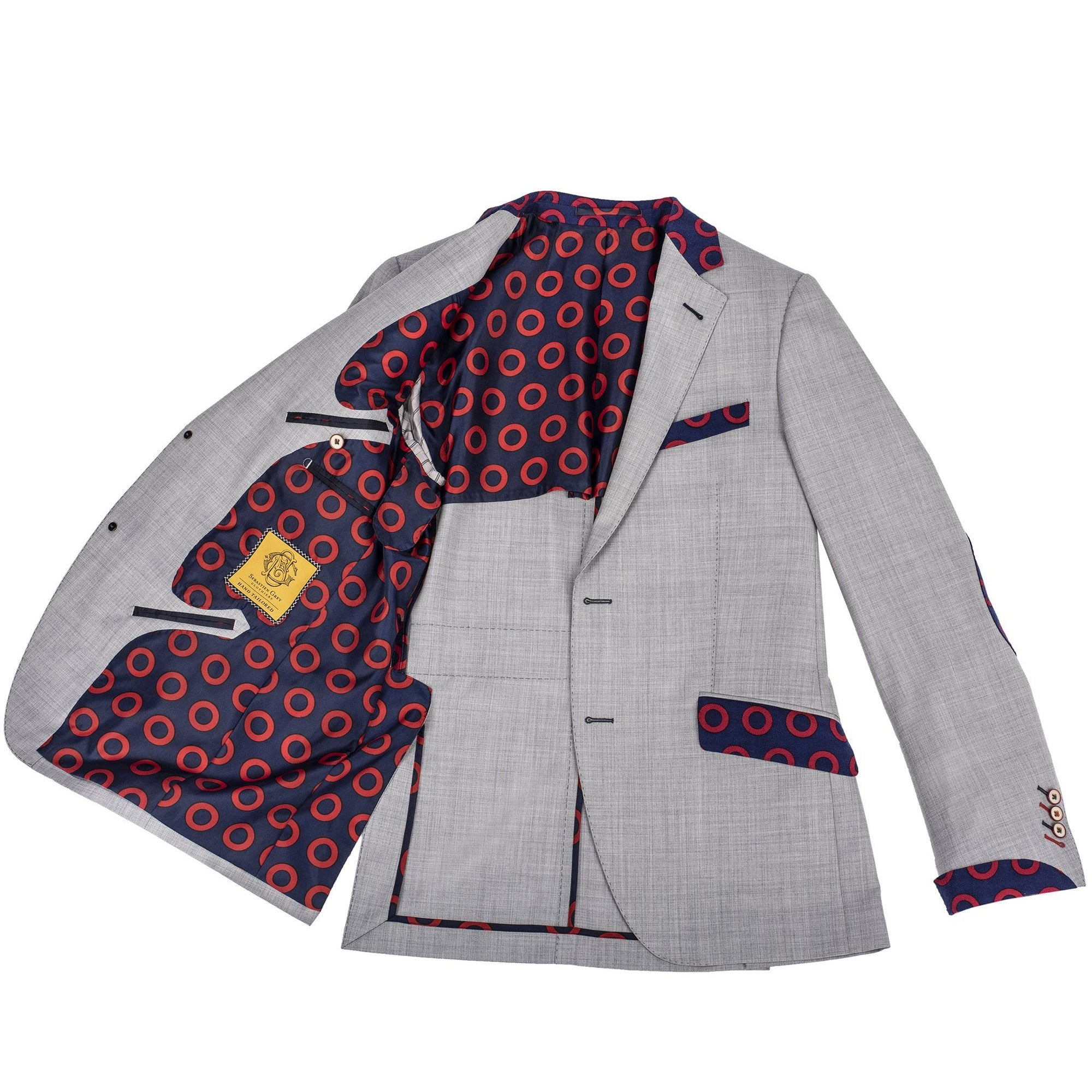 Light Grey Donut Sport Coat - Section 119