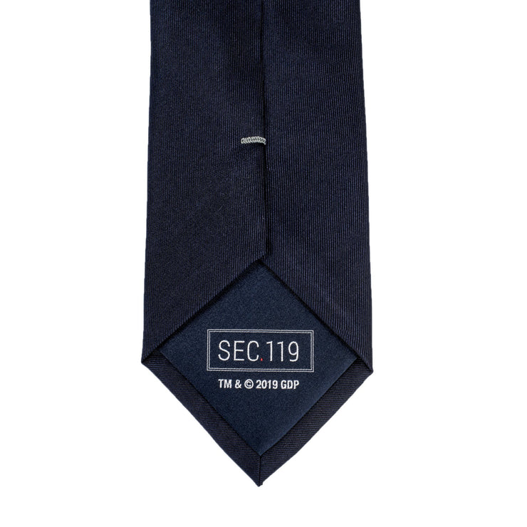 Grateful Dead Navy Dancing Bear Tie by Section 119