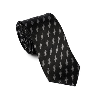 Grateful Dead All Over 13 Bolt Black Tie (grey)