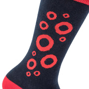 Classic Fishman Donut Sock by Section 119 with Bubbles