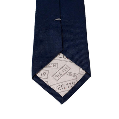 Navy Donut Bubble Tie - Section 119
