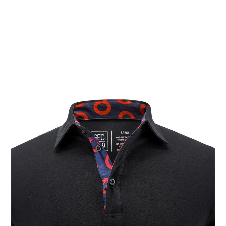 Sec.119 Black Donut Polo
