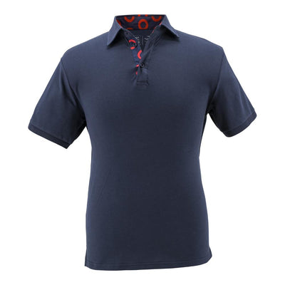 Navy Donut Polo - Section 119
