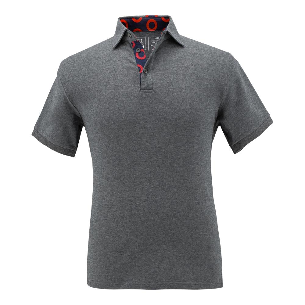 Grey Donut Polo - Section 119