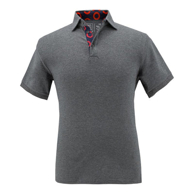 Grey Donut Polo Shirt Section 119