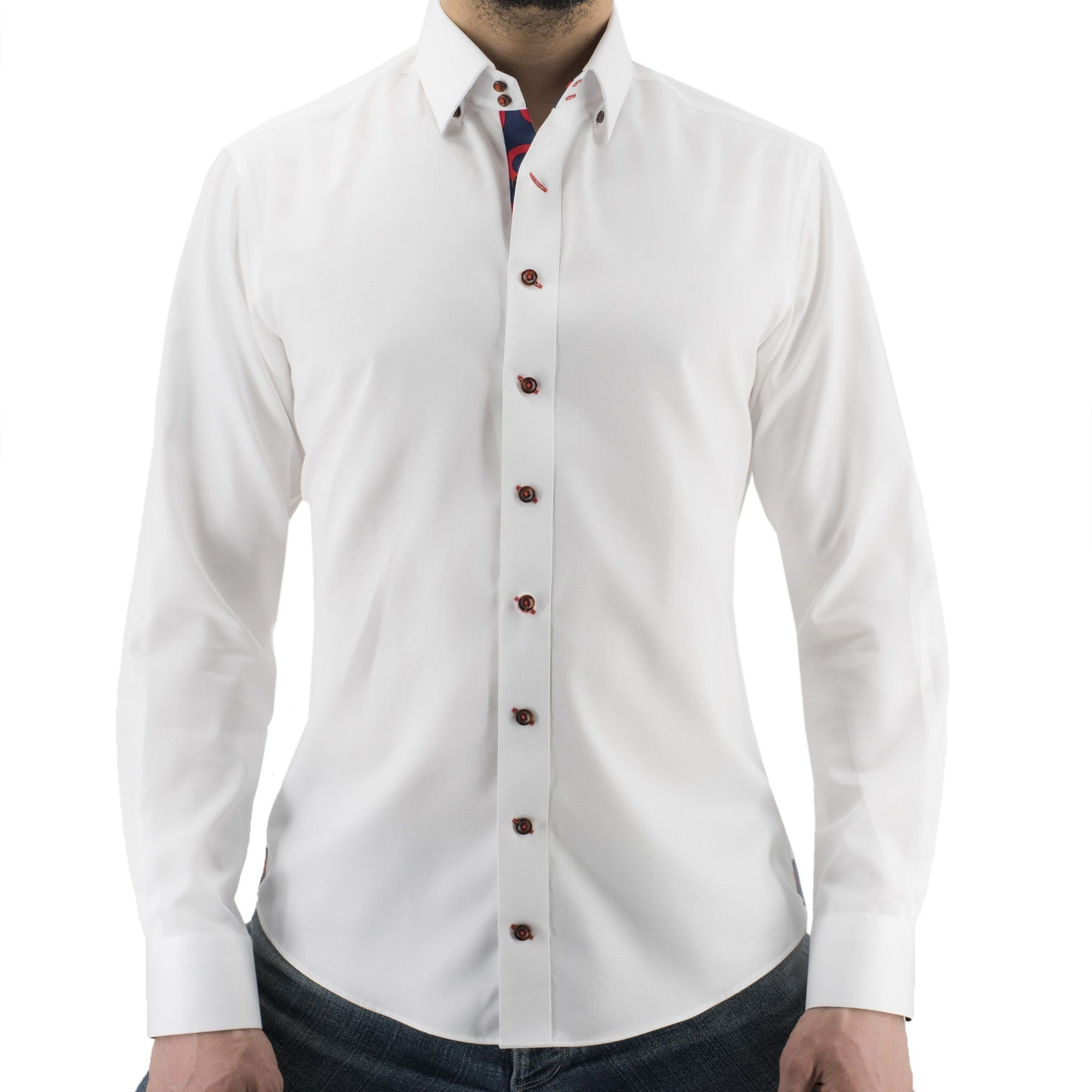 White Donut Button-Down - Section 119