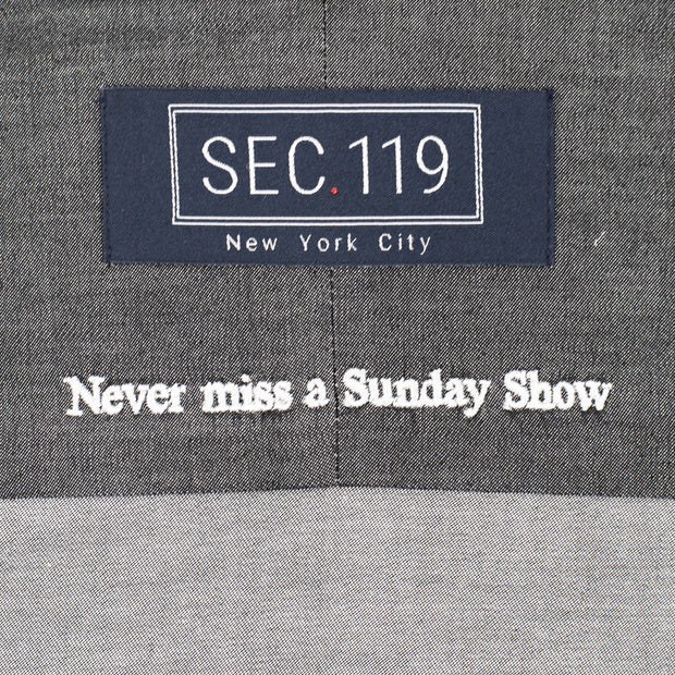 Sec.119 Charcoal Chambray Button-Down
