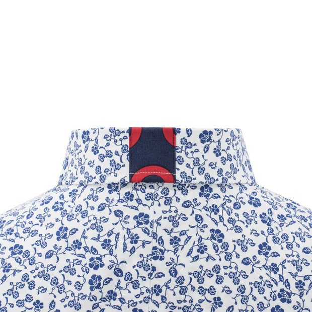 Sec.119 Floral Short Sleeve Button-Down
