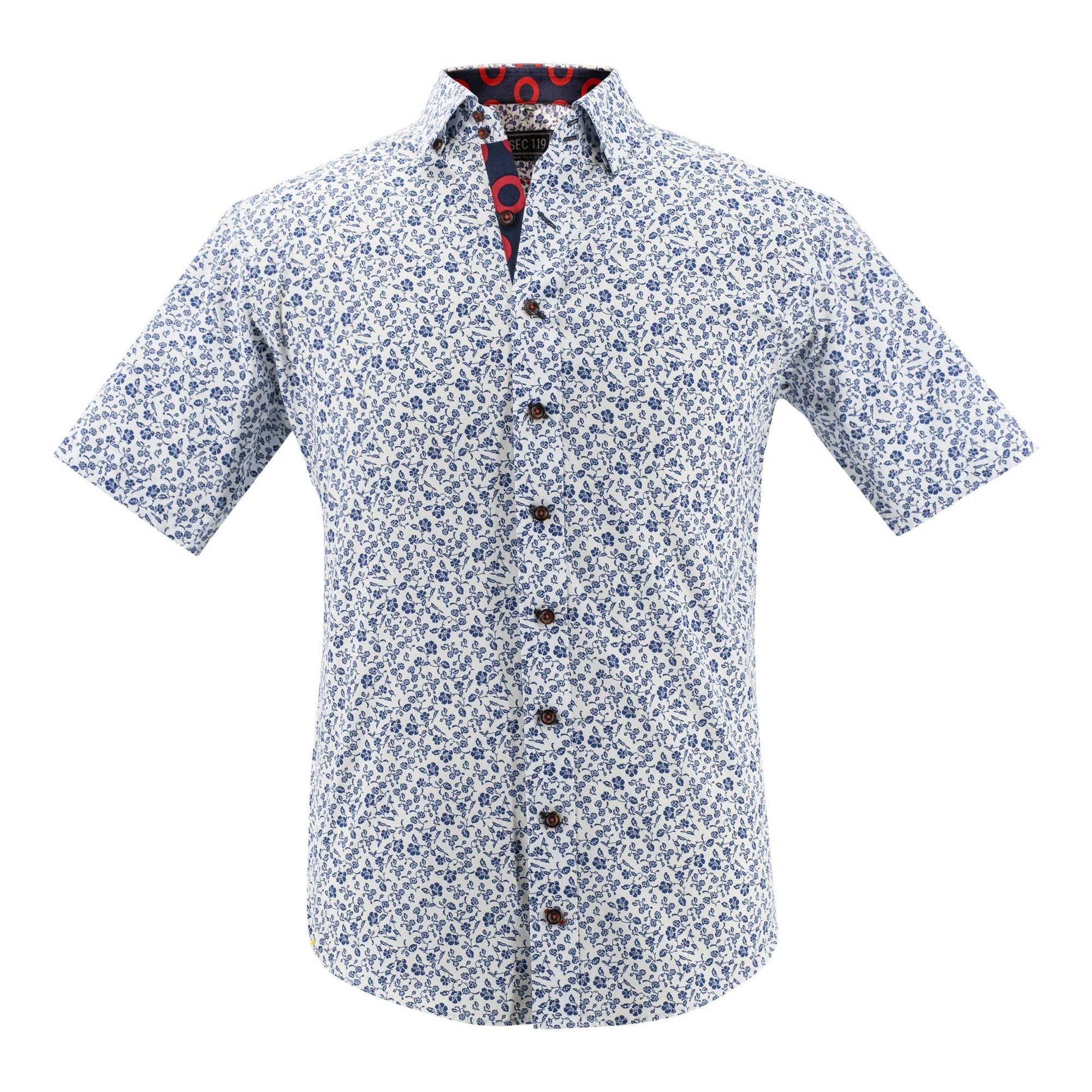 Floral Donut Short-Sleeve Shirt - Section 119