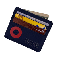 Navy Donut Wallet - Section 119