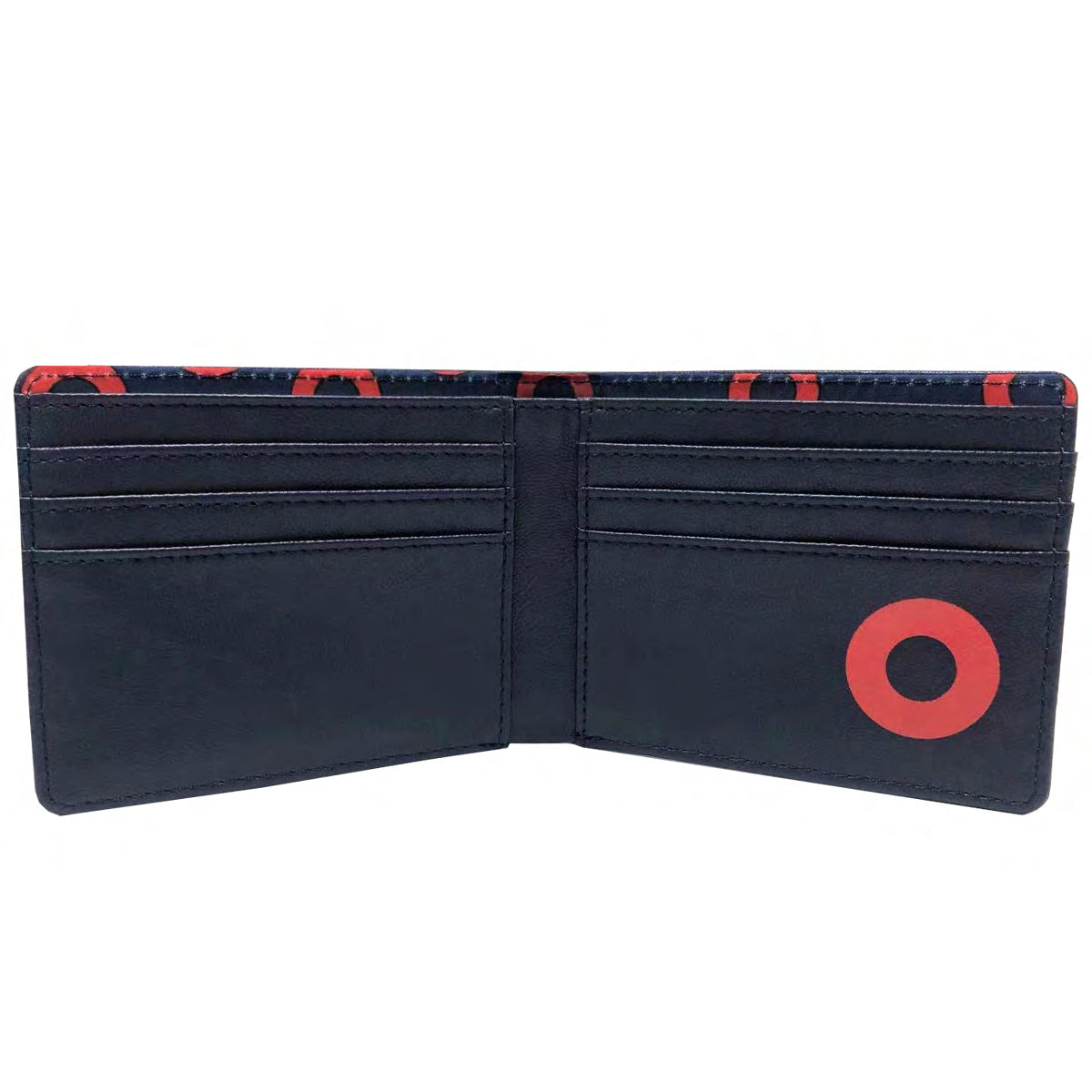 Bi-Fold Leather Donut Wallet - Section 119