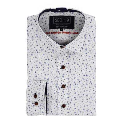 Grateful Dead Floral Bolt Button-Down Shirt by Section 119