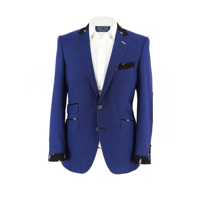 Grateful Dead Blue Sharkskin Bolt Sport Coat Donut2 Section 119