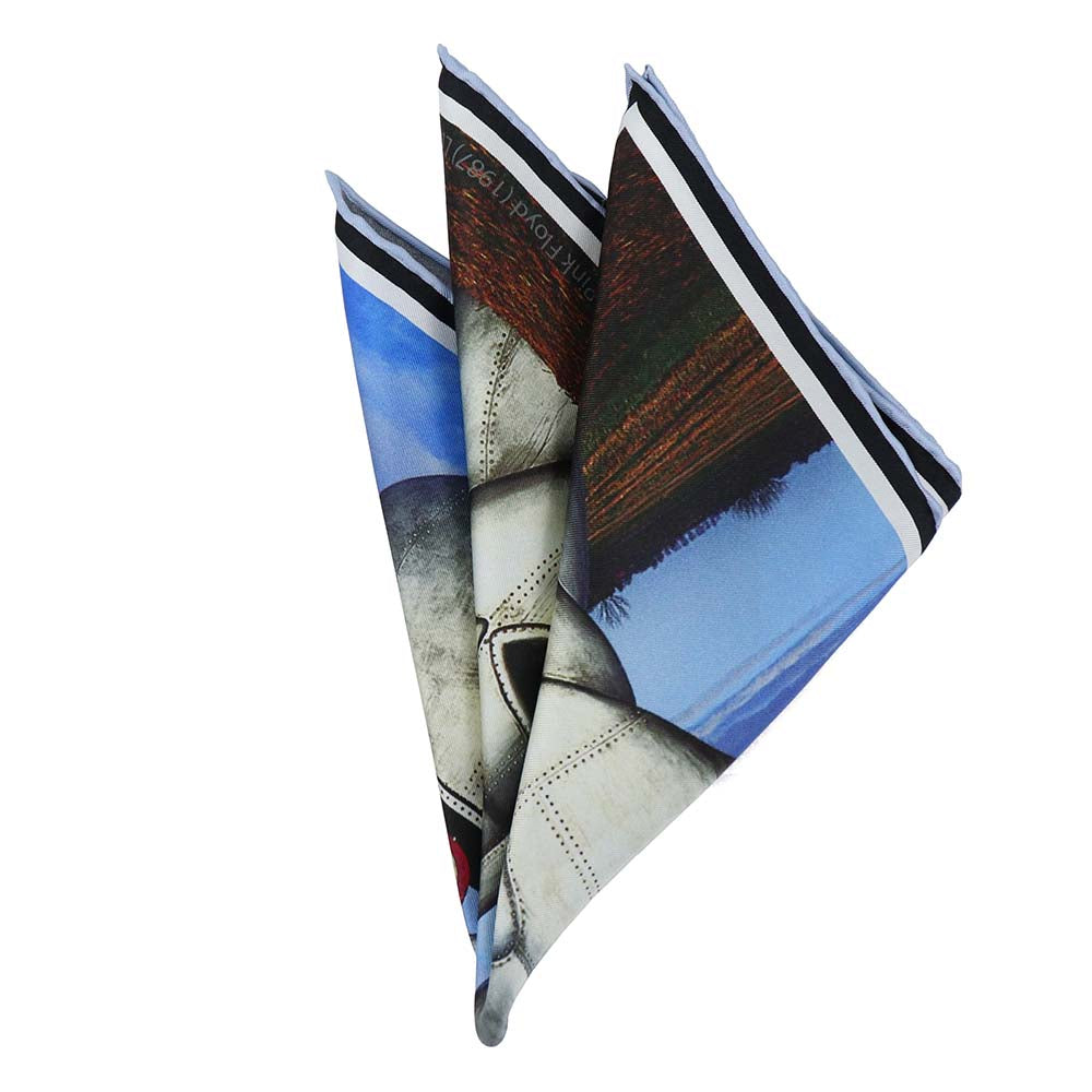Pink Floyd Division Bell Pocket Square - Section 119