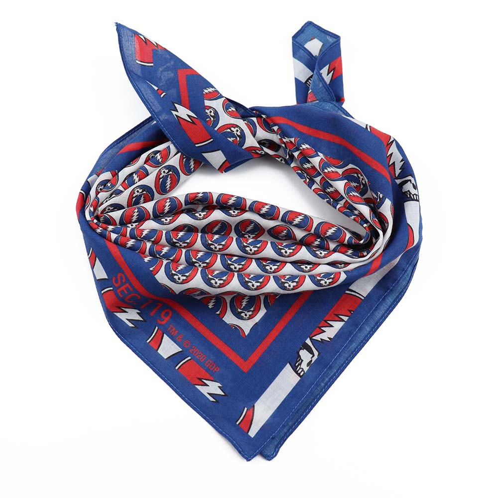 Grateful Dead Steal Your Face Bandana - Section 119