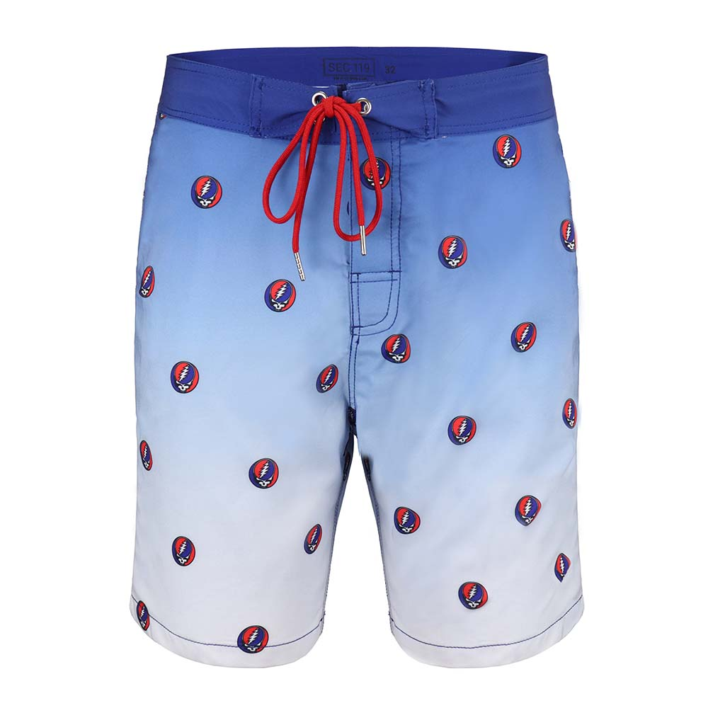 Grateful Dead Steal Your Face Board Shorts - Section 119