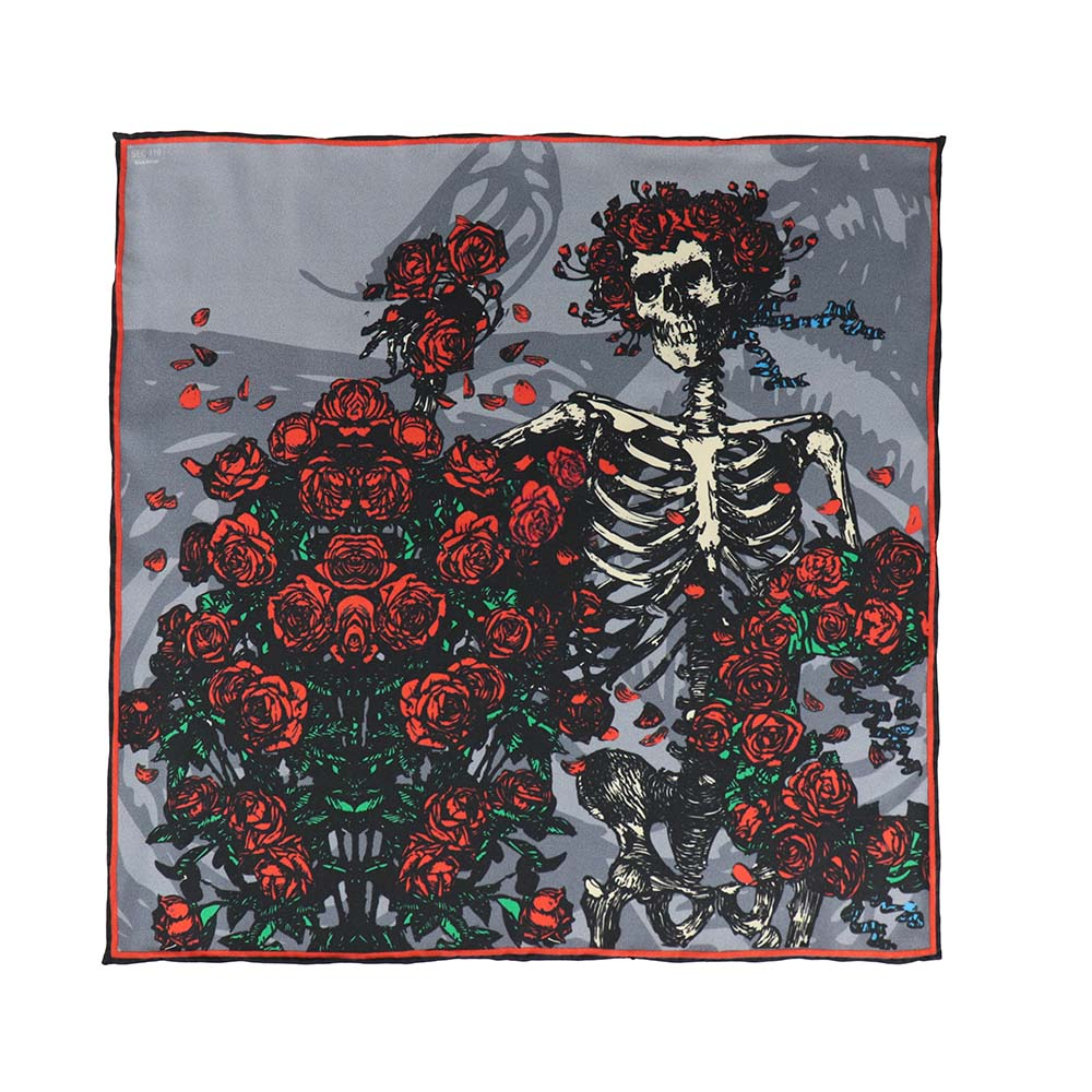Grateful Dead Bertha Pocket Square - Section 119