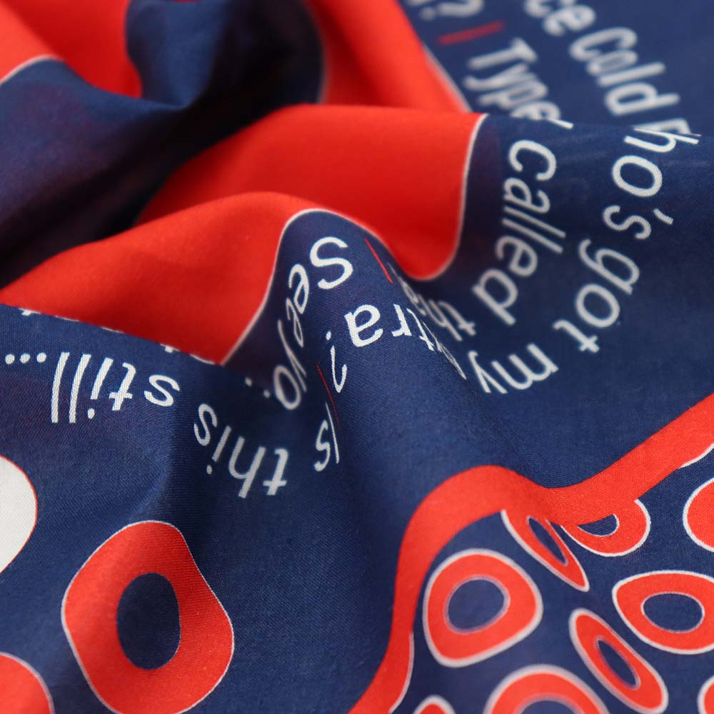 Big Center Donut Bandana With Lot Slang - Section 119