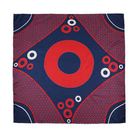 Big Donut Women's Silk Scarf - Section 119
