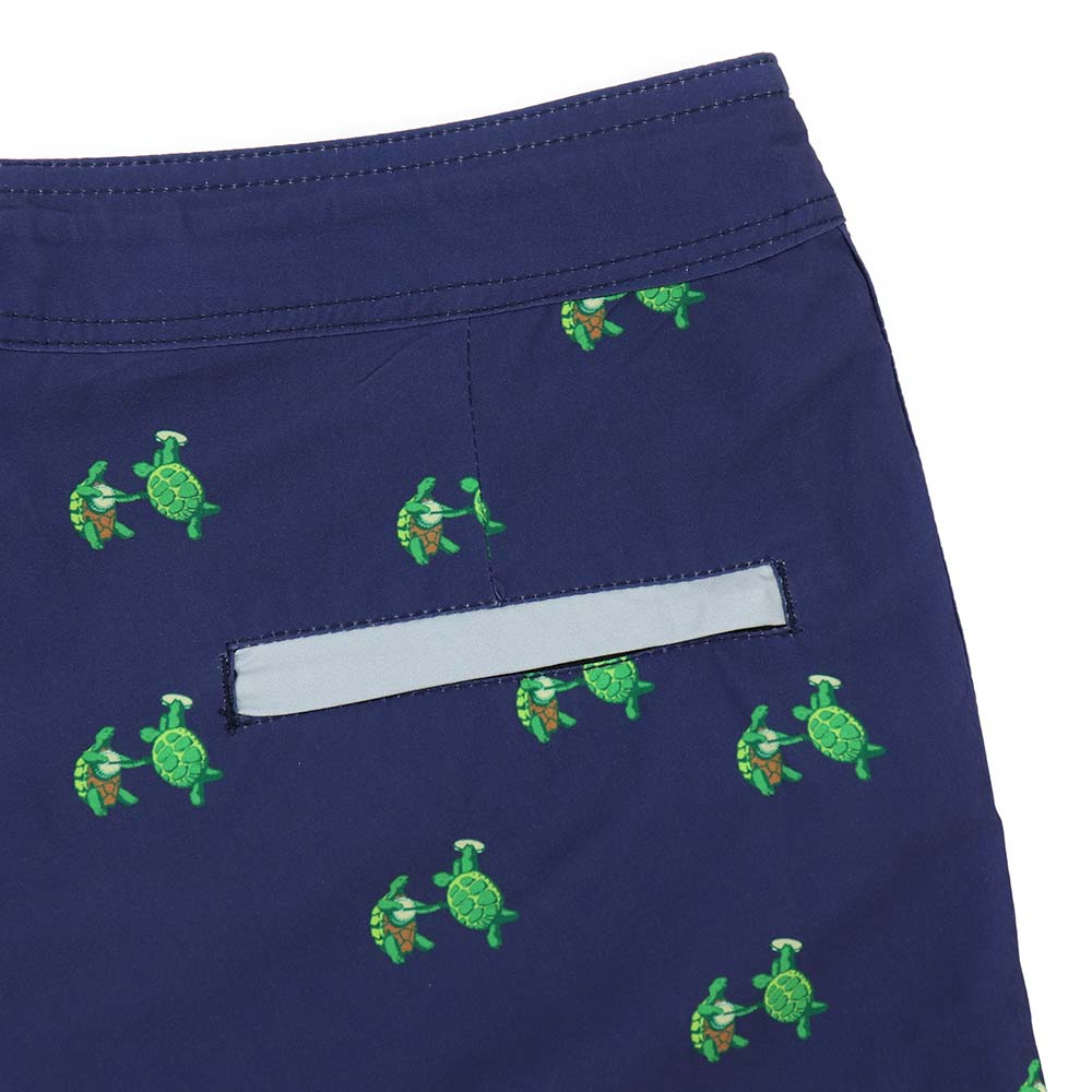 Grateful Dead Navy Terrapin Board Shorts - Section 119