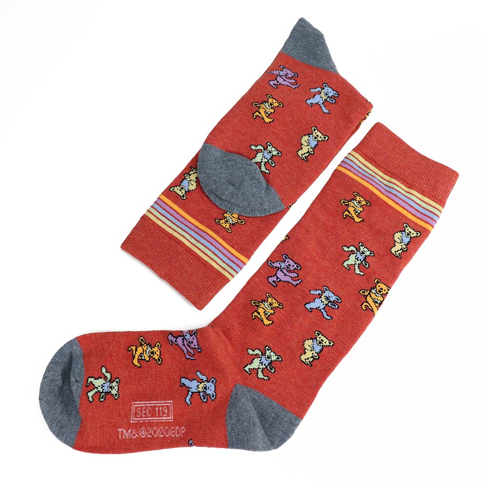 Grateful Dead New Bear Socks - Section 119