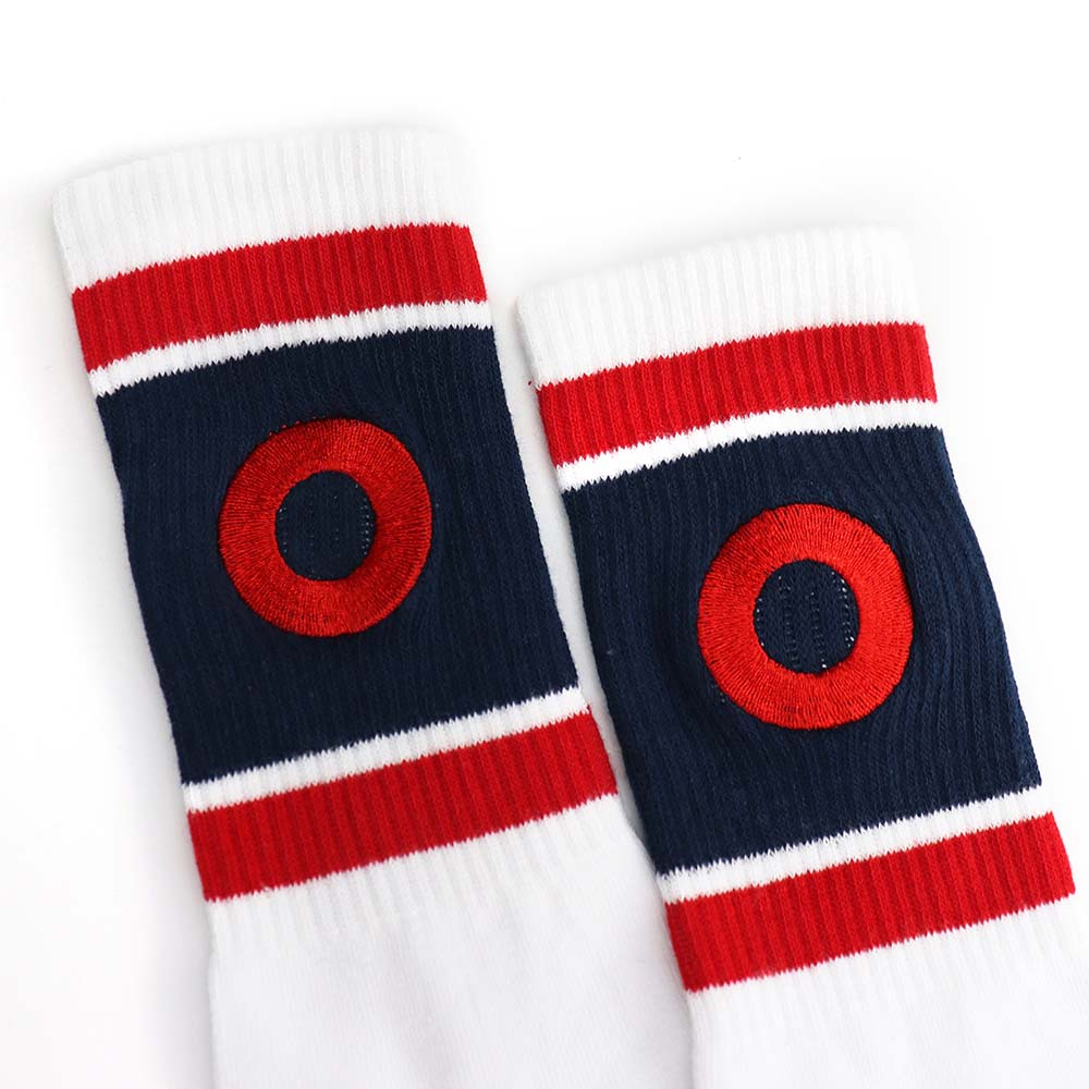 White Donut Socks - Section 119