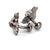 Gunmetal Dancing Bear Cufflinks - Section 119