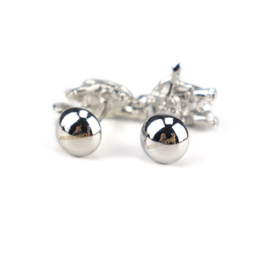 Silver Terrapin Turtles Cufflinks - Section 119